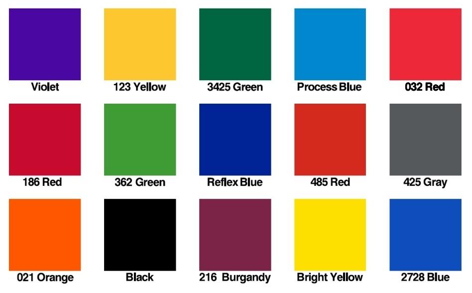 colours 2014
